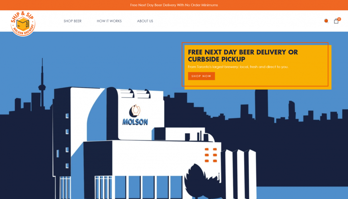 DTC-eCommerce-Examples-Molson-Brewery